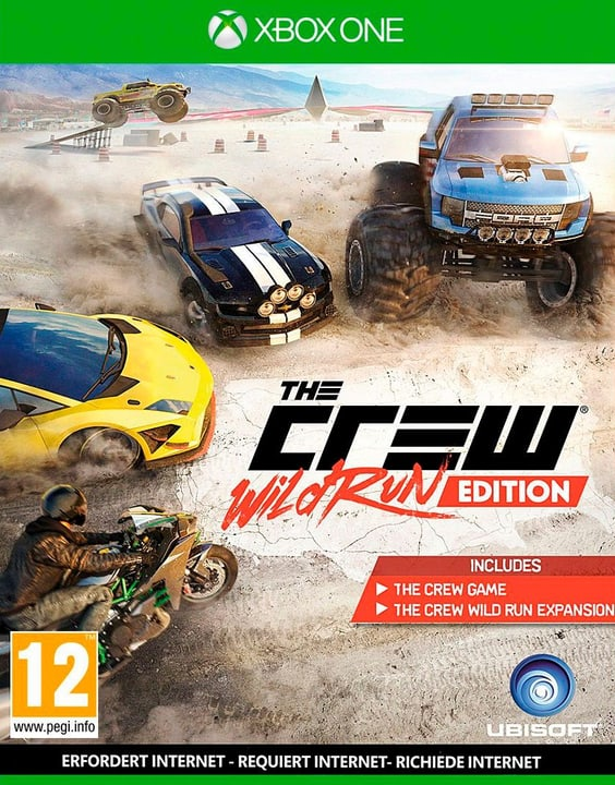 Xbox One - The Crew Wild Run Fisico (Box) 785300121885 Lingua Tedesco Piattaforma Microsoft Xbox One N. figura 1