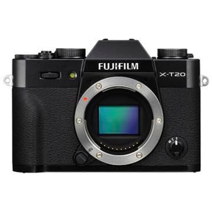 X-T20 noir Body appareil photo système FUJIFILM 785300125829 Photo no. 1