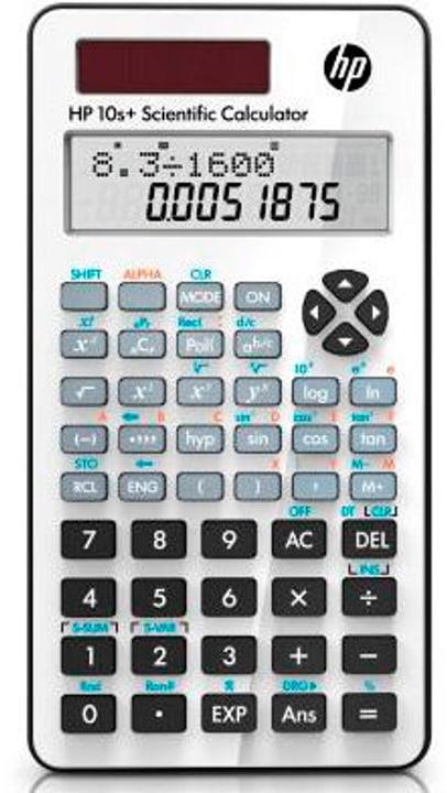 Calculatrice scientifique HP-10S+ multilingual Calculatrice scientifique HP 791035100000 Photo no. 1