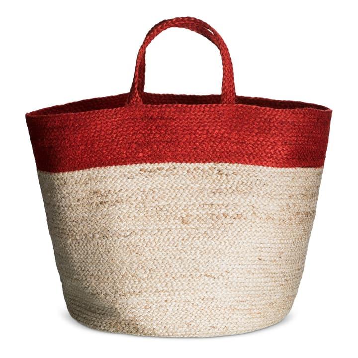 NELA borsa da spiaggia 374142506030 Dimensioni L: 40.0 cm x P: 60.0 cm Colore Rosso N. figura 1