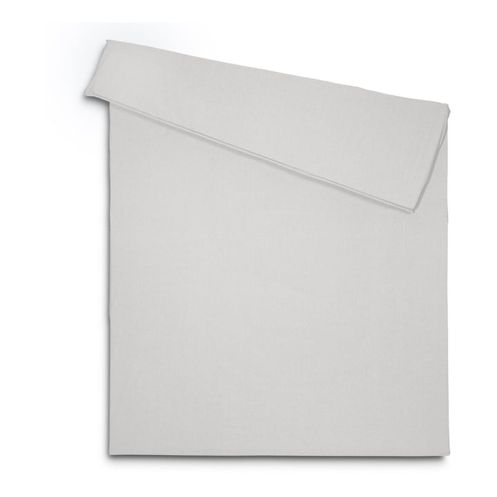ATRIA Duvetbezug 376024359304 Farbe Grau Grösse L: 210.0 cm x B: 160.0 cm Bild Nr. 1