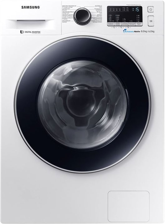 WD4000 WD80M4A53JW/WS Lavatrice / Asciugatrice Samsung 785300136842 N. figura 1