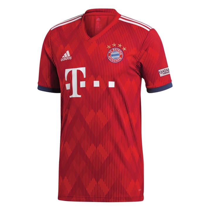 FC Bayern München Home Jersey Réplique de maillot de football Adidas 498284600430 Colore rosso Taglie M N. figura 1