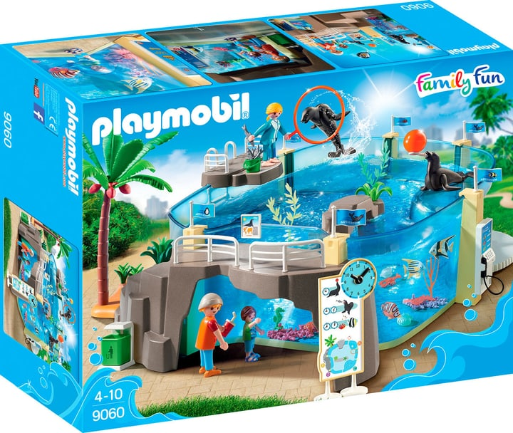 Playmobil Family Fun Grande Acquario 9060 746075400000 N. figura 1