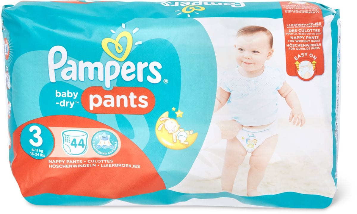 Pampers Baby Dry Pants 3