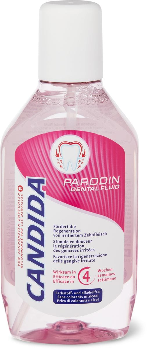 Candida dental fluid Parodin Professional