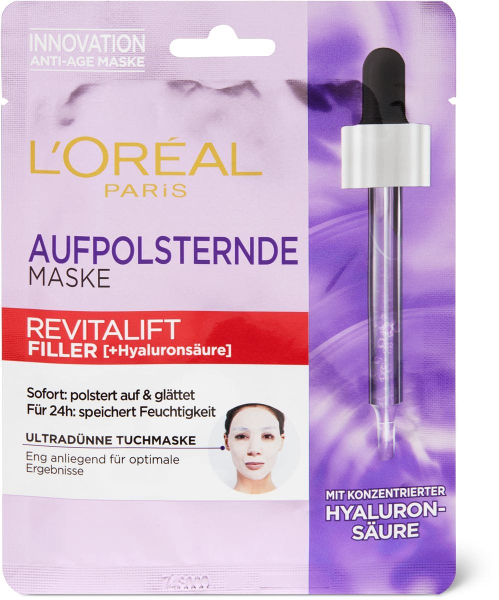 L'Oréal Revitalift Filler Tissue Mask