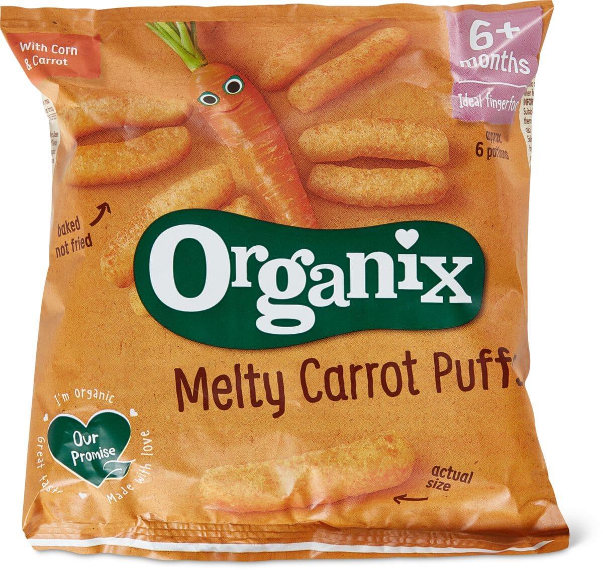Organix Bastoncini di carota