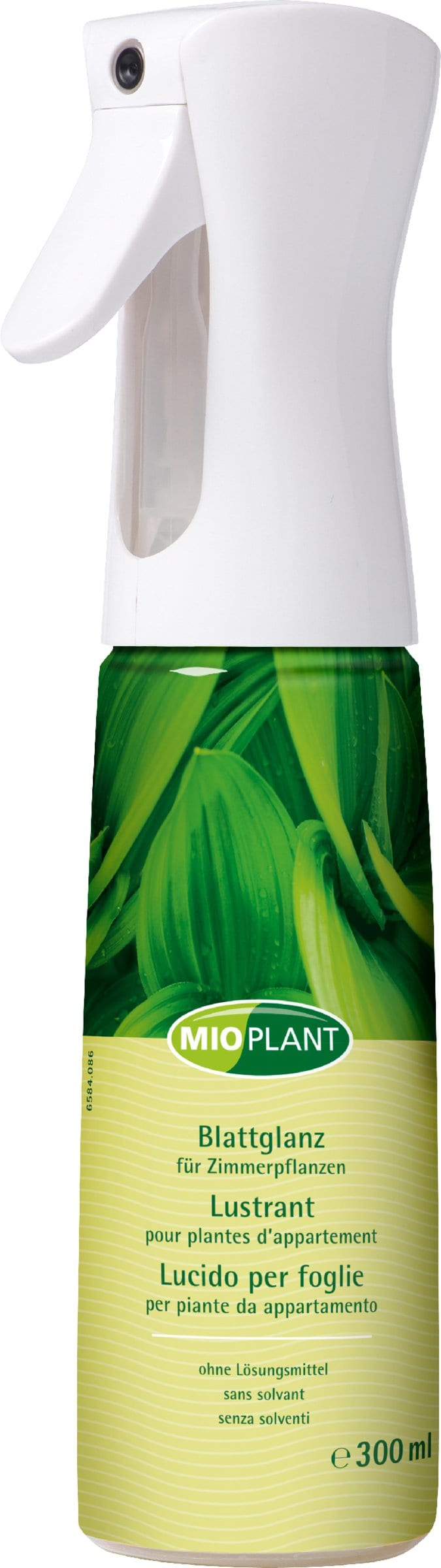Mioplant Blattglanz für Zimmerpflanzen, 300 ml