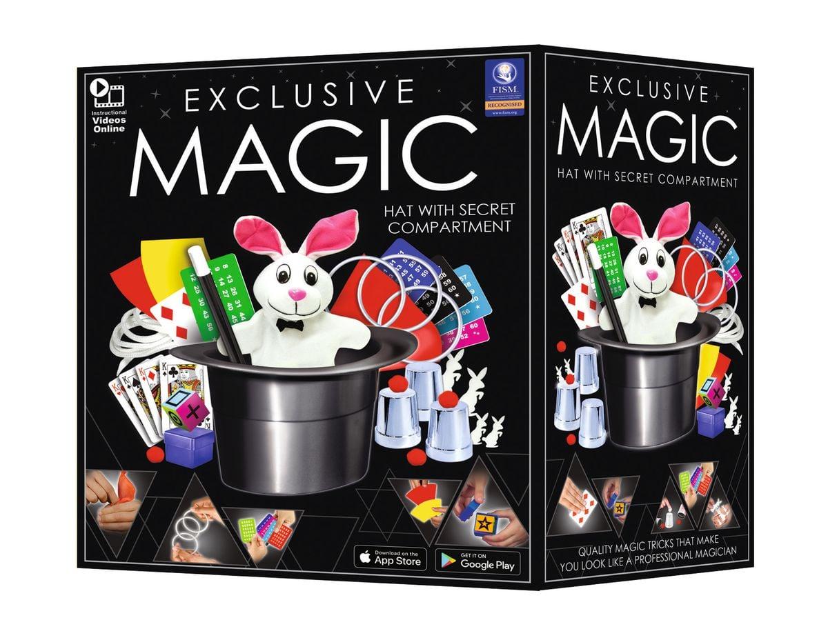 Exclusive Magic Set mit Zauberhut Gesellschaftsspiel