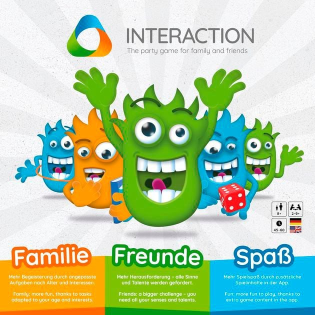 Interaction Party Game Gesellschaftsspiel