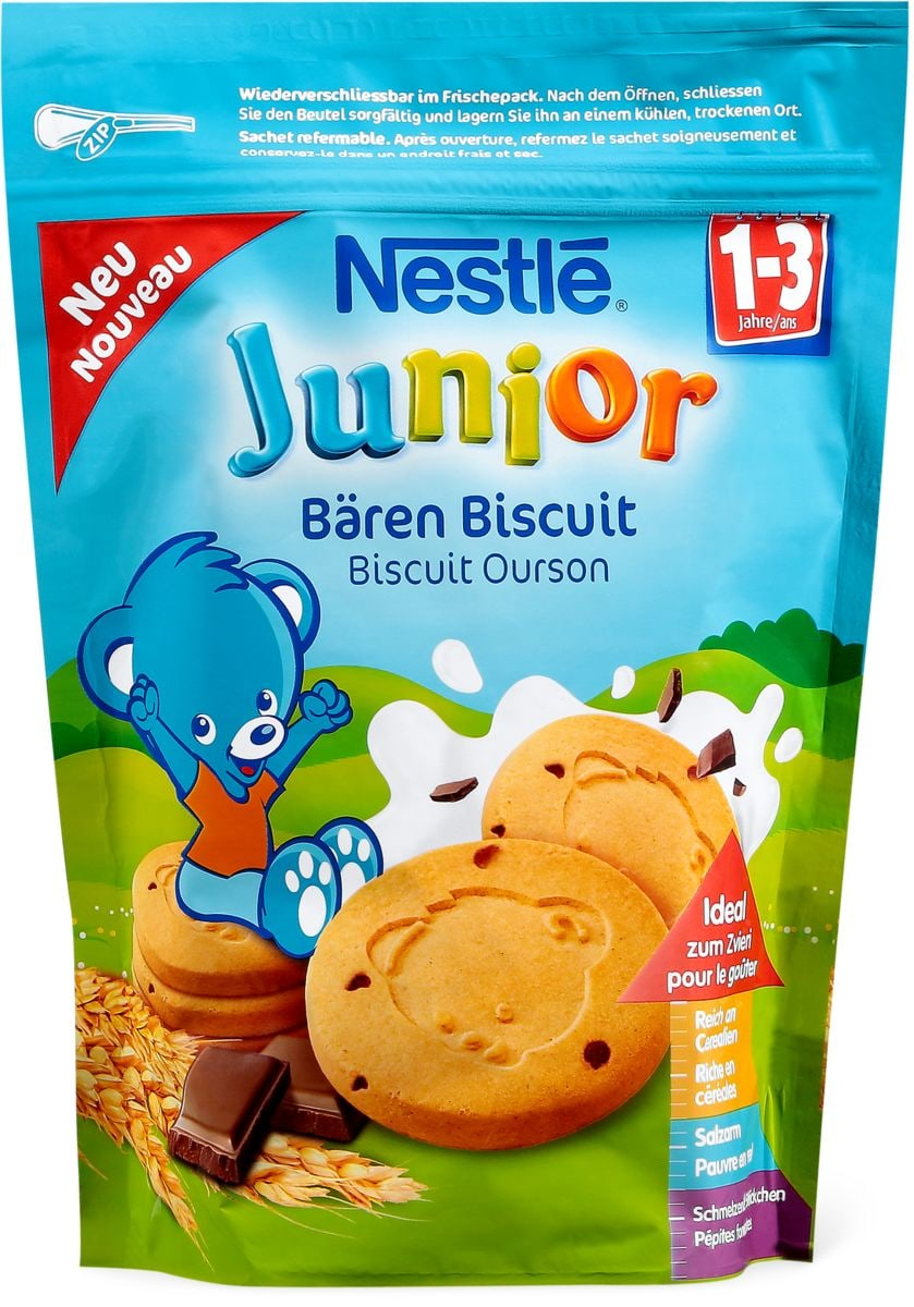 Nestlé Junior Bären Biscuit