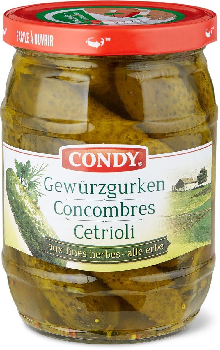 Condy Concombres aux fines herbes