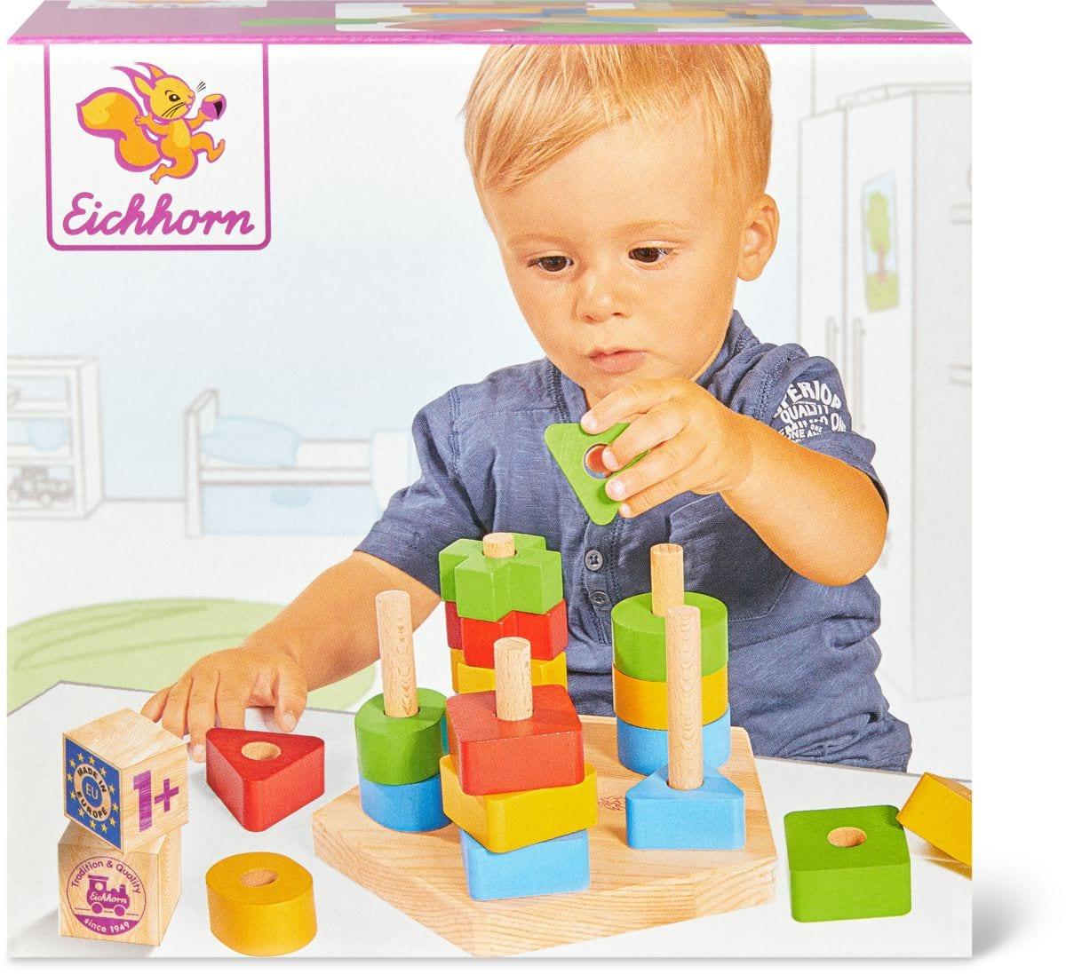 Eichhorn Steckspiel (FSC®) Spielset
