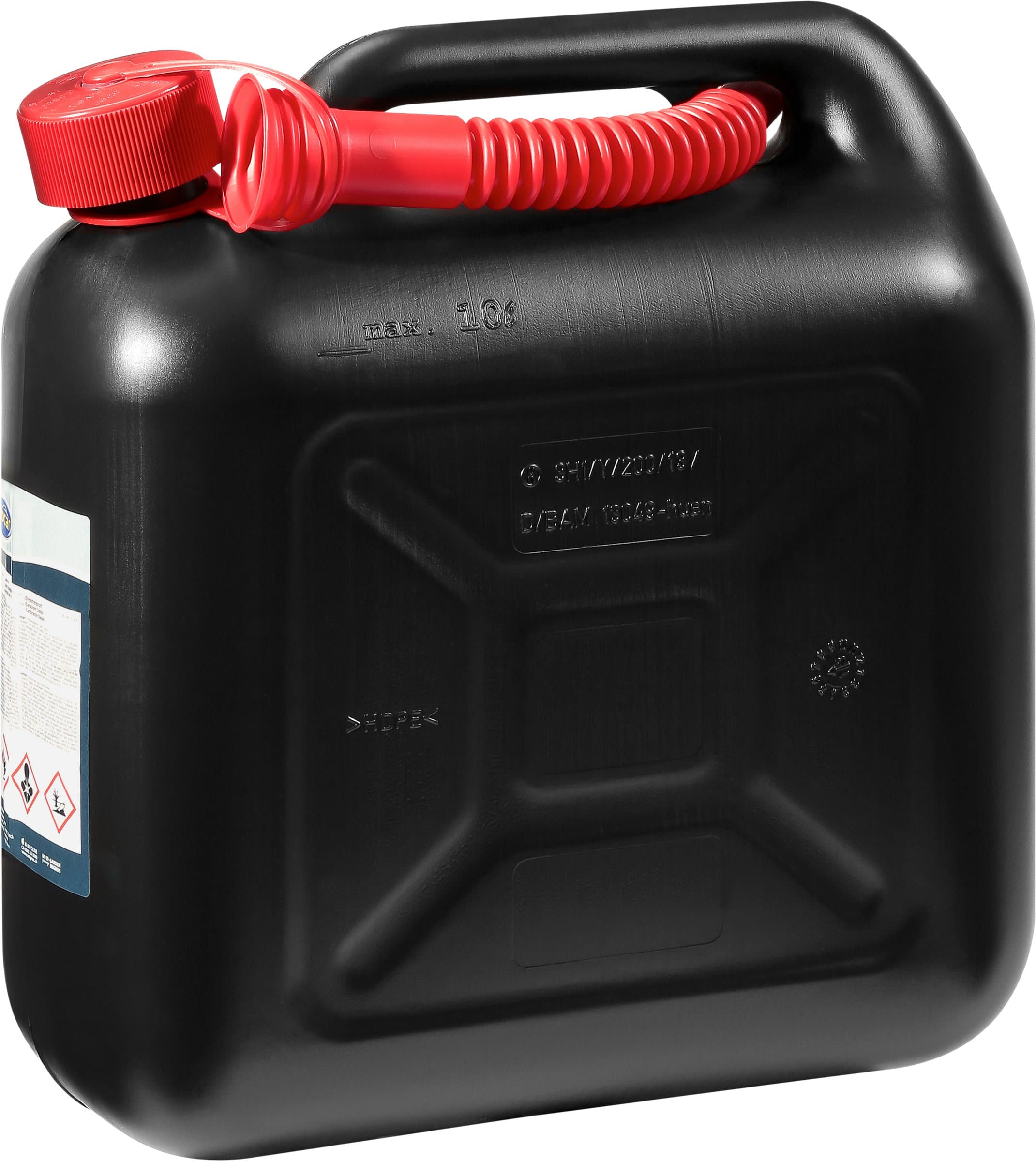 miocar benzin kanister 10 l migros. Black Bedroom Furniture Sets. Home Design Ideas
