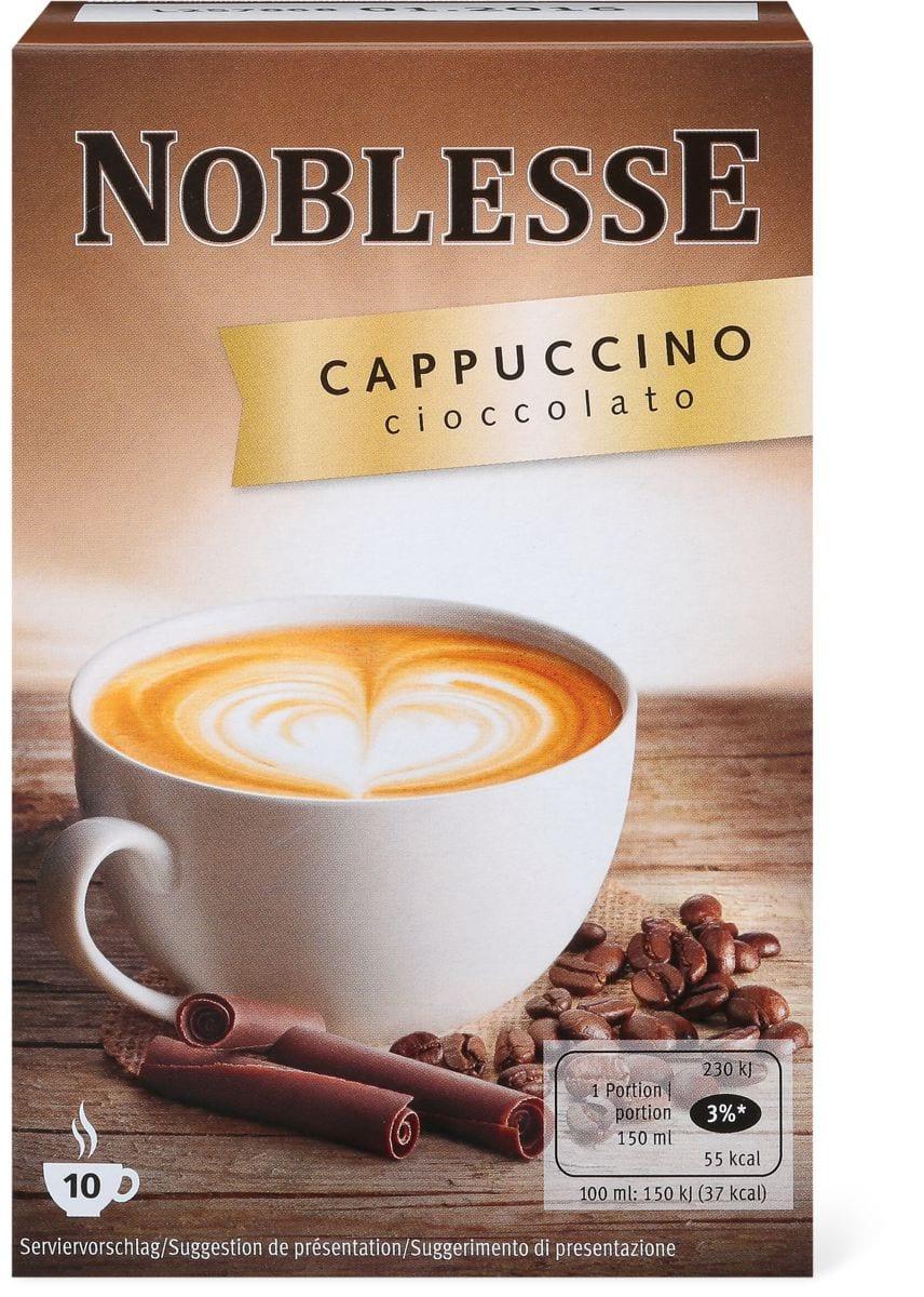 Noblesse cappuccino Cioccolato