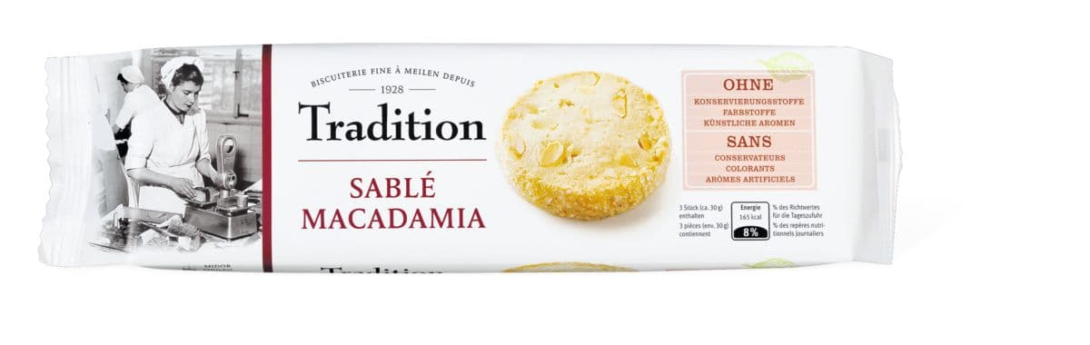 Tradition Sablé Macadamia