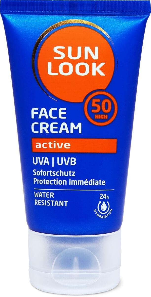 Sun Look Active Face Cream SF50