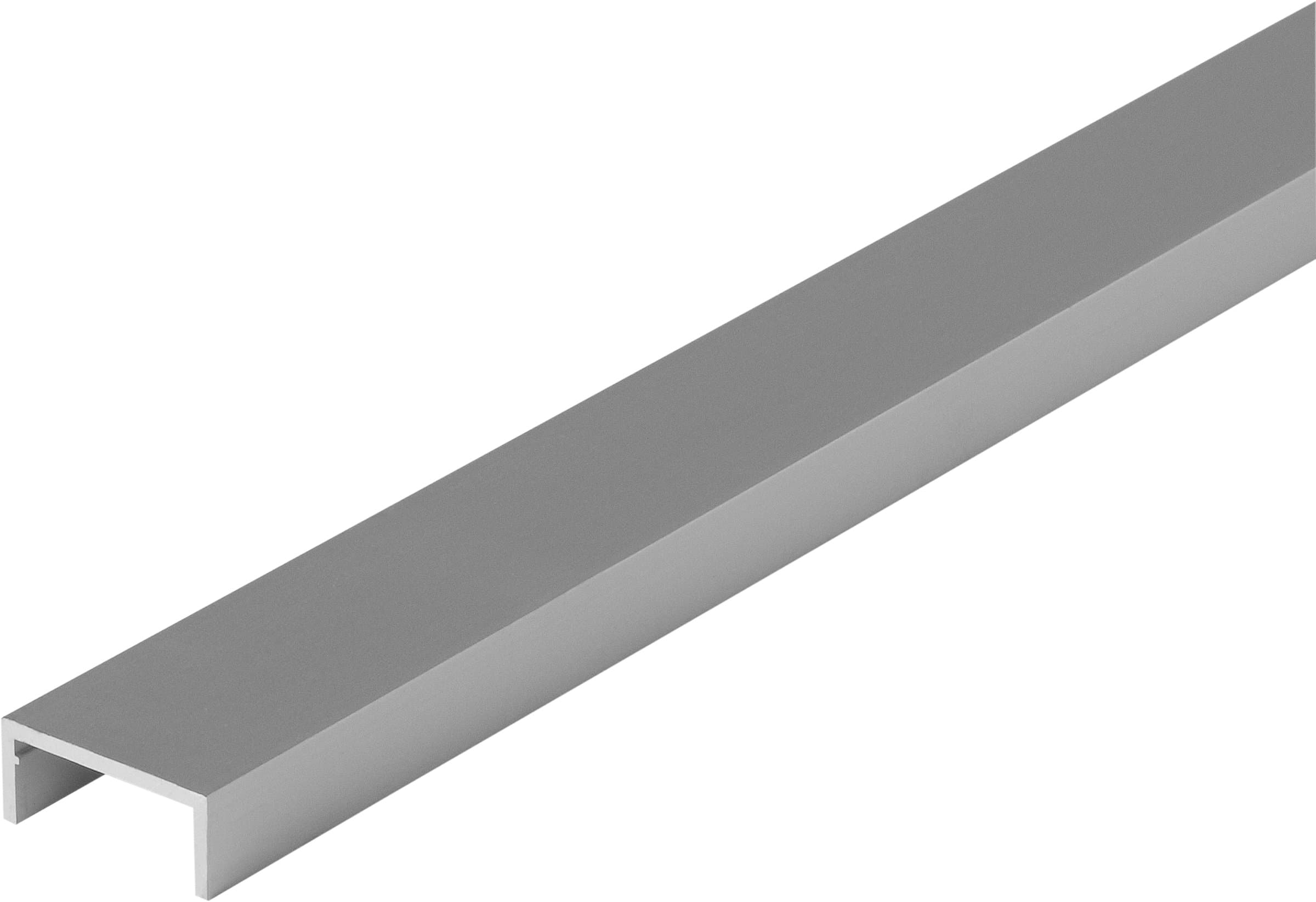 alfer U-Profilé 1.5 x 10 x 22.5 mm argent 1 m