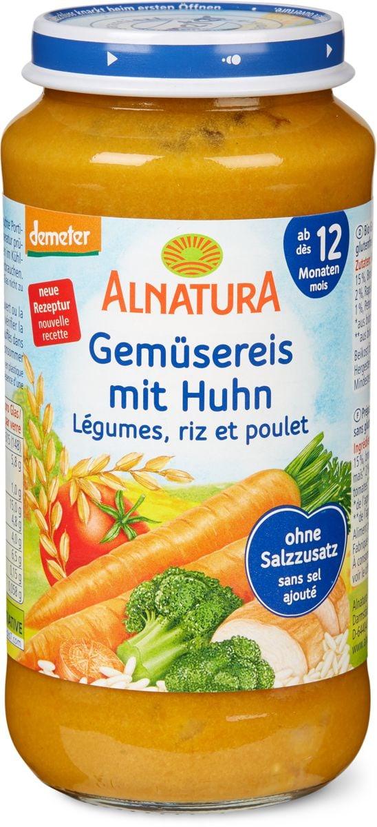 Alnatura Riz légumes avec poulet