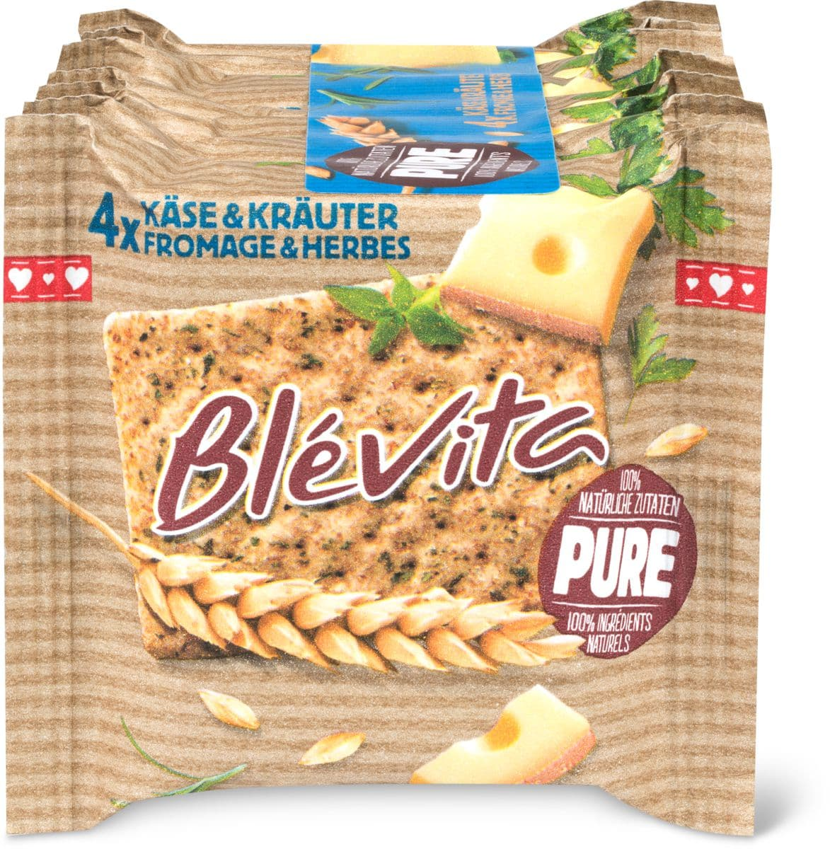 Blévita pure Fromage & herbes
