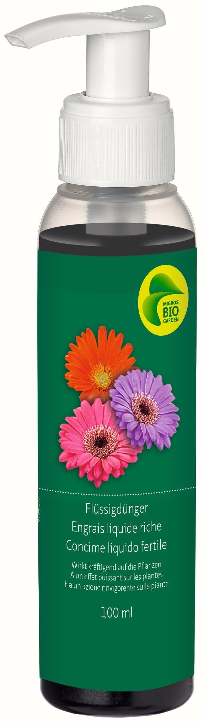 Migros-Bio Garden Engrais liquide riche, 100 ml