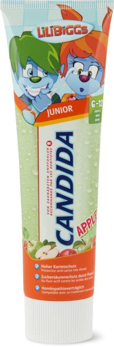 Candida dentifricio Junior Apple