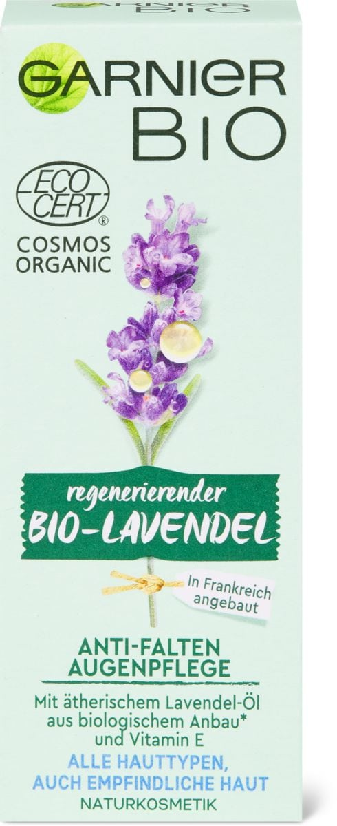 Garnier Bio Augencreme Lavendel