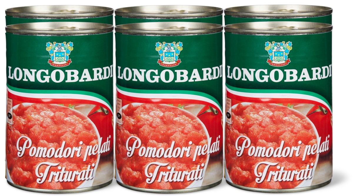 Longobardi Tomaten gehackt im 6er-Pack