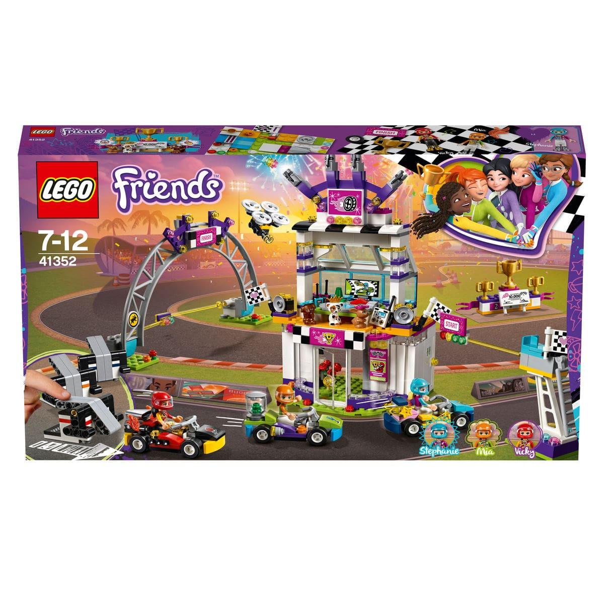 Lego Friends La grande corsa al go-kart 41352