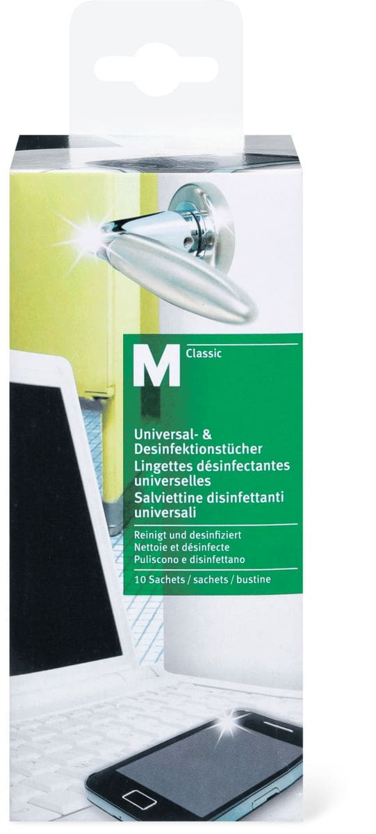 M-Classic salviettin disinfettanti univer