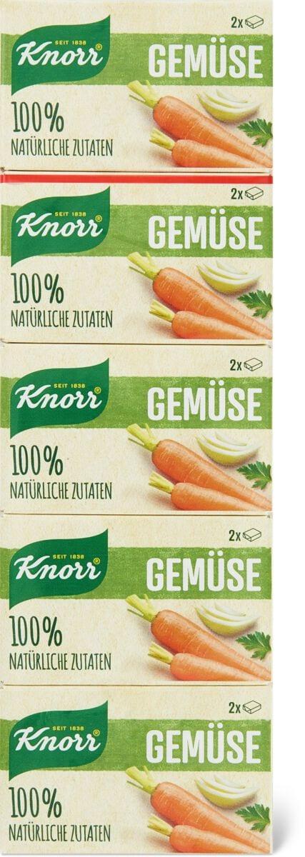 Knorr brodo verdure con sale mare