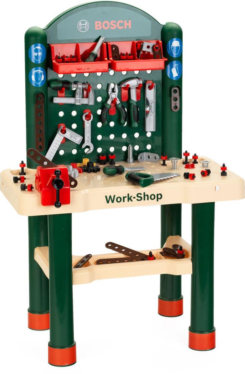 Etabli Bosch Workshop 82 accessoires