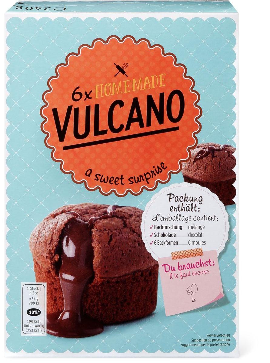 Backmischung Vulcano