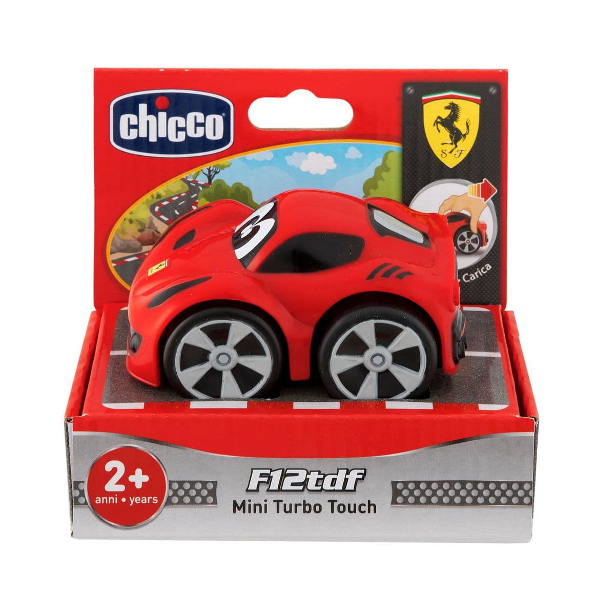 Chicco Mini Turbo Touch Ferrari F12 Tdf Rossa Macchinine