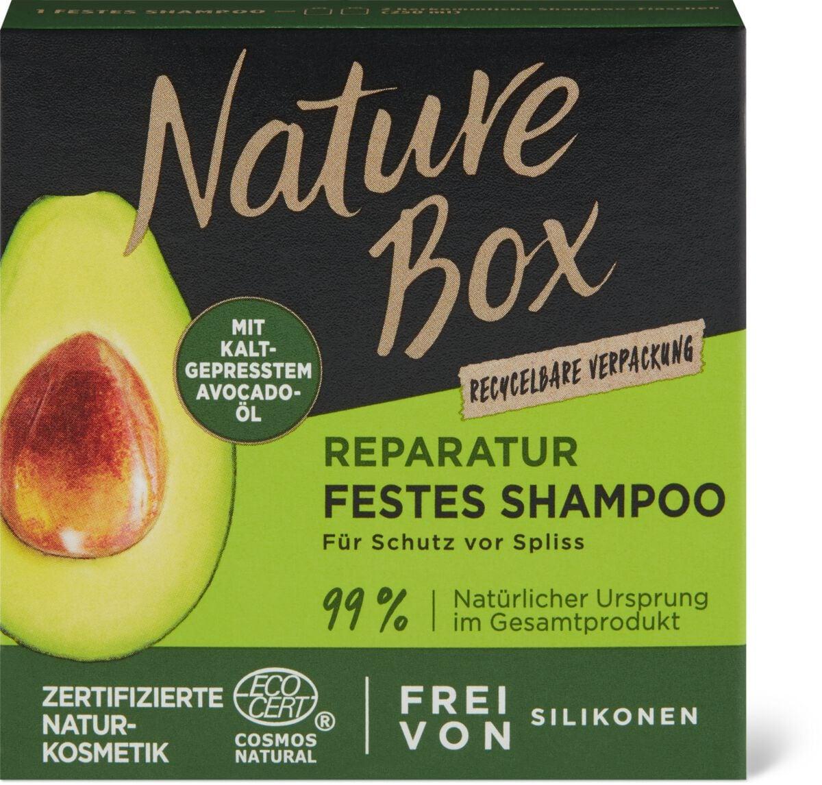 Nature Box Avocado Festes Shampoo