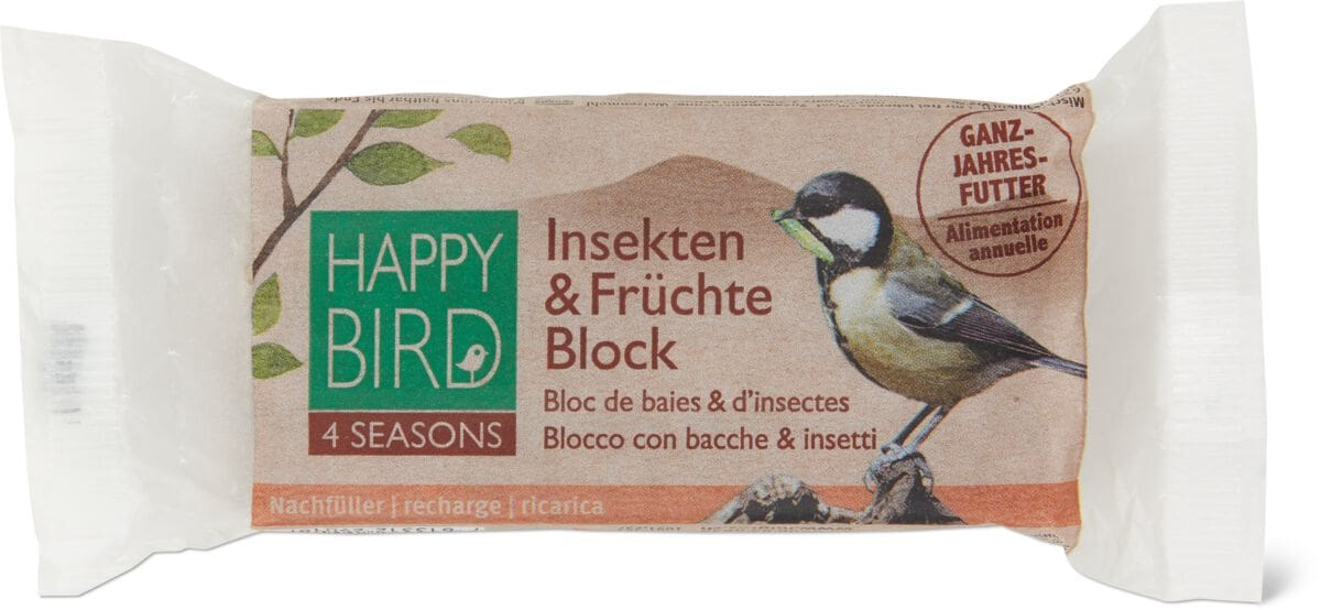 Insekten& Früchte Block