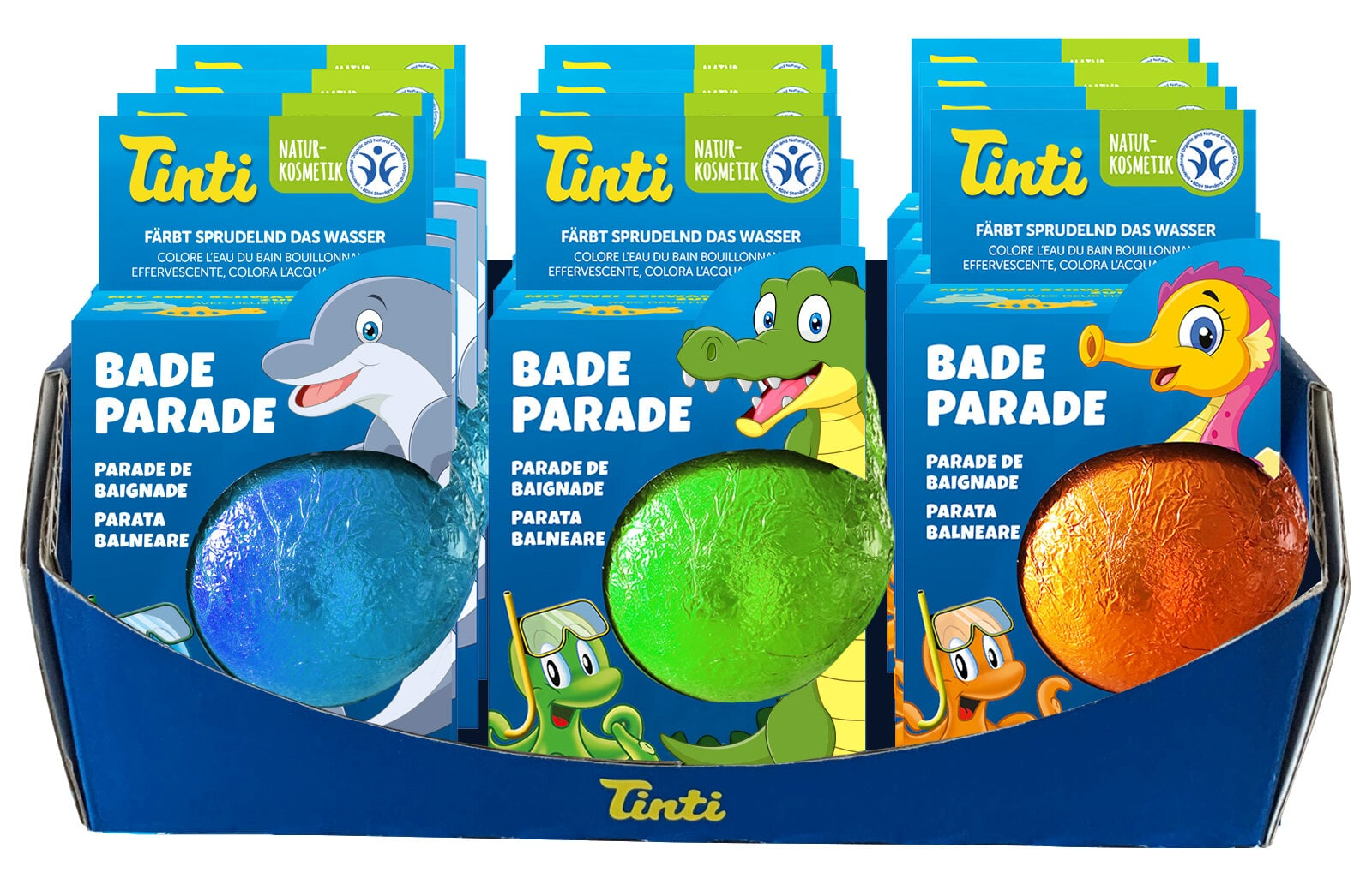 Tinti Bade-Parade Basteln