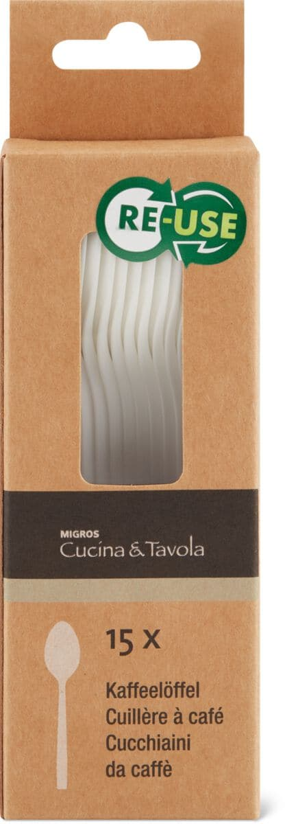 Cucina & Tavola Cucina & Tavola Kaffeelöffel, 15 Stück
