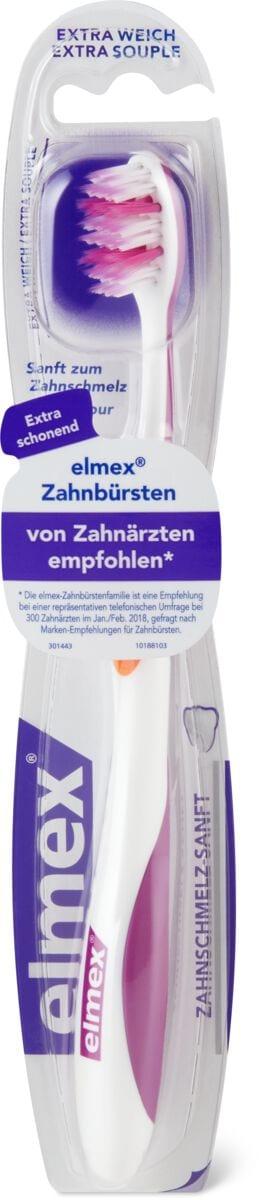 Elmex brosse à dents email dentaire doux