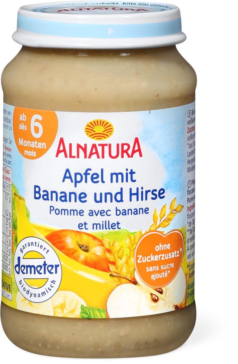 Alnatura Mela banana e miglio