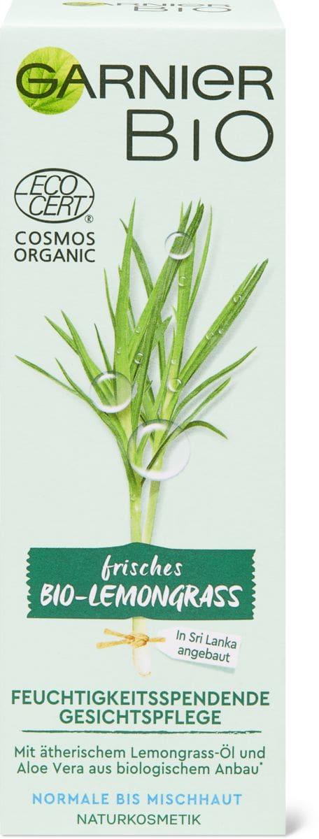 Garnier Bio Lemongrass Gesichtspflege