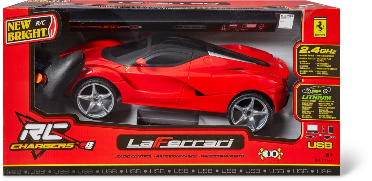 New Bright La Ferrari rouge R/C - 1:12
