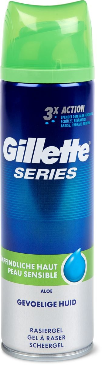 Gillette Series Gel Peau sensible