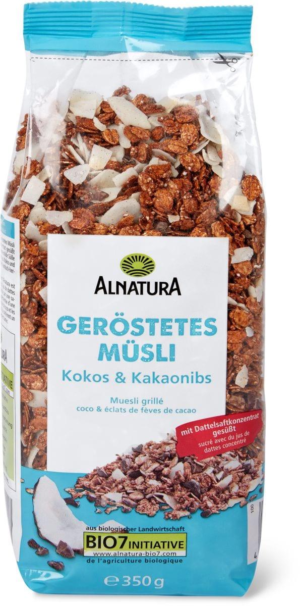 Alnatura coco-cacao Müsli grillé