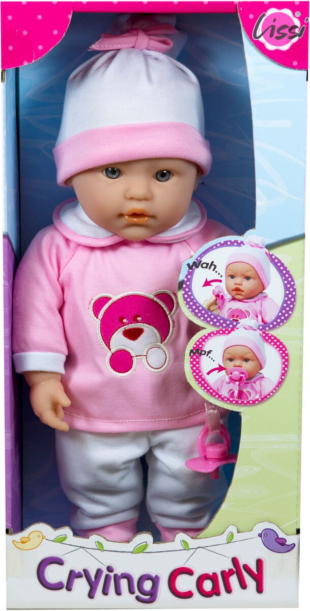 Lissi Crying Baby, 35cm Puppe