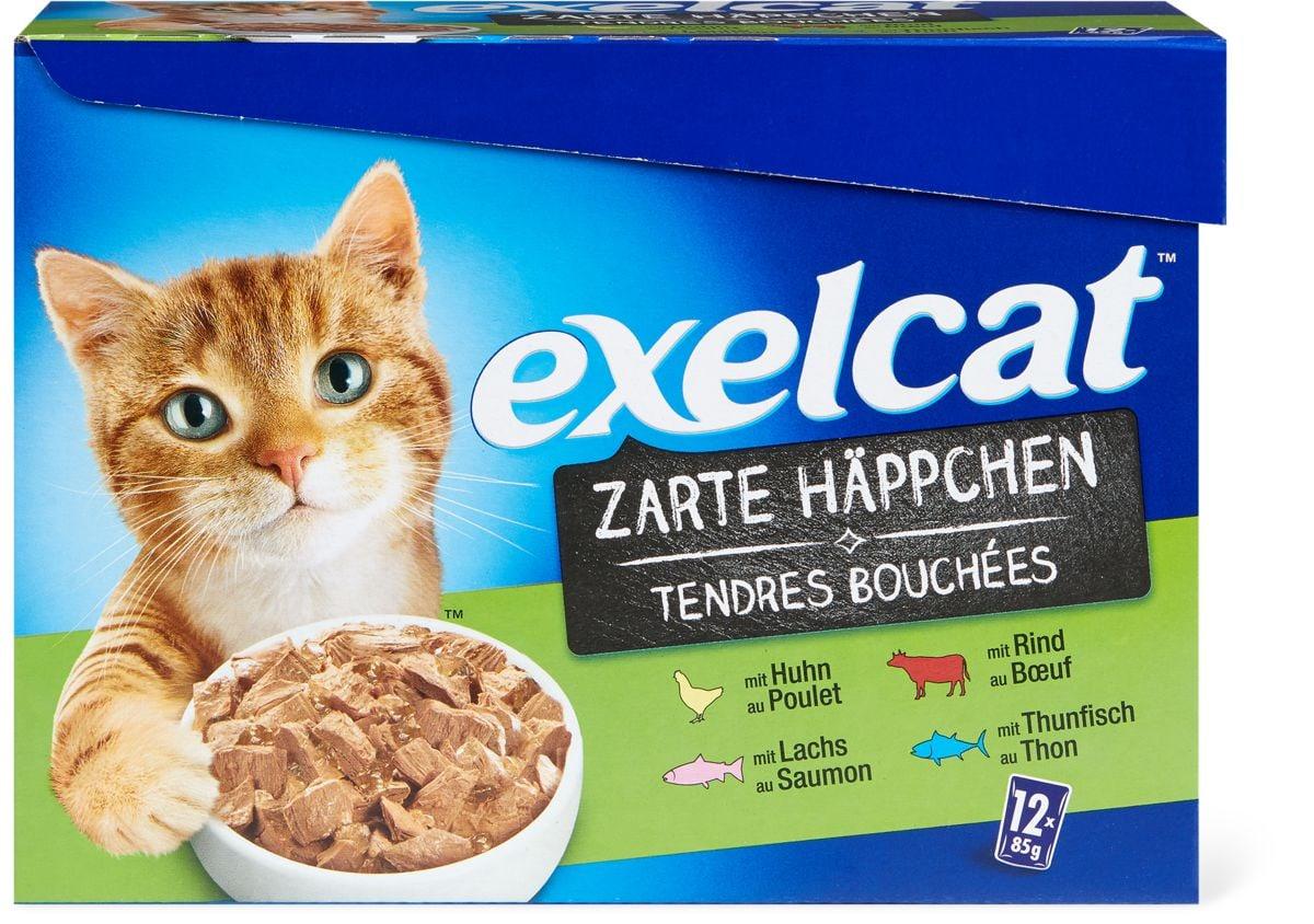 Exelcat tendres Bouchées top mix