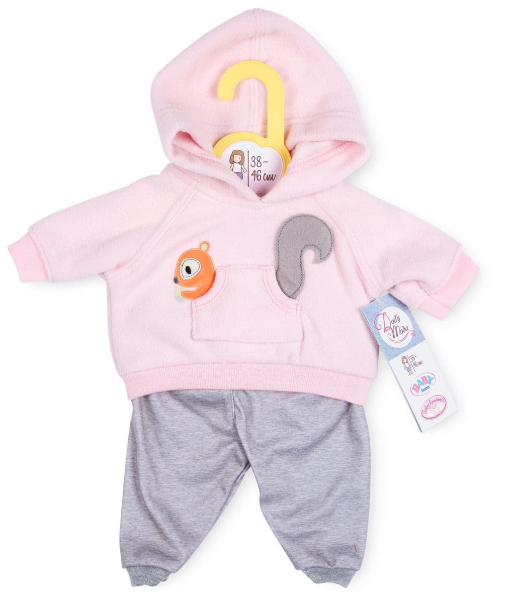 Dolly Moda Sport Outfit rose 38-46cm