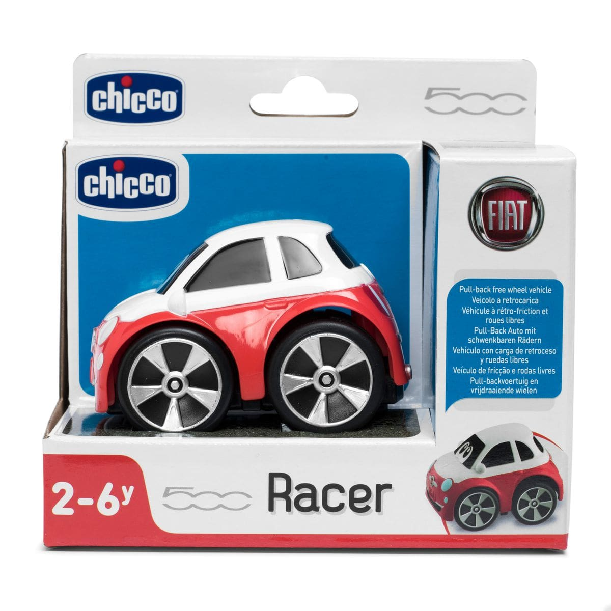 Chicco Turbo Team 500 Stunt Fiat Spielfahrzeug
