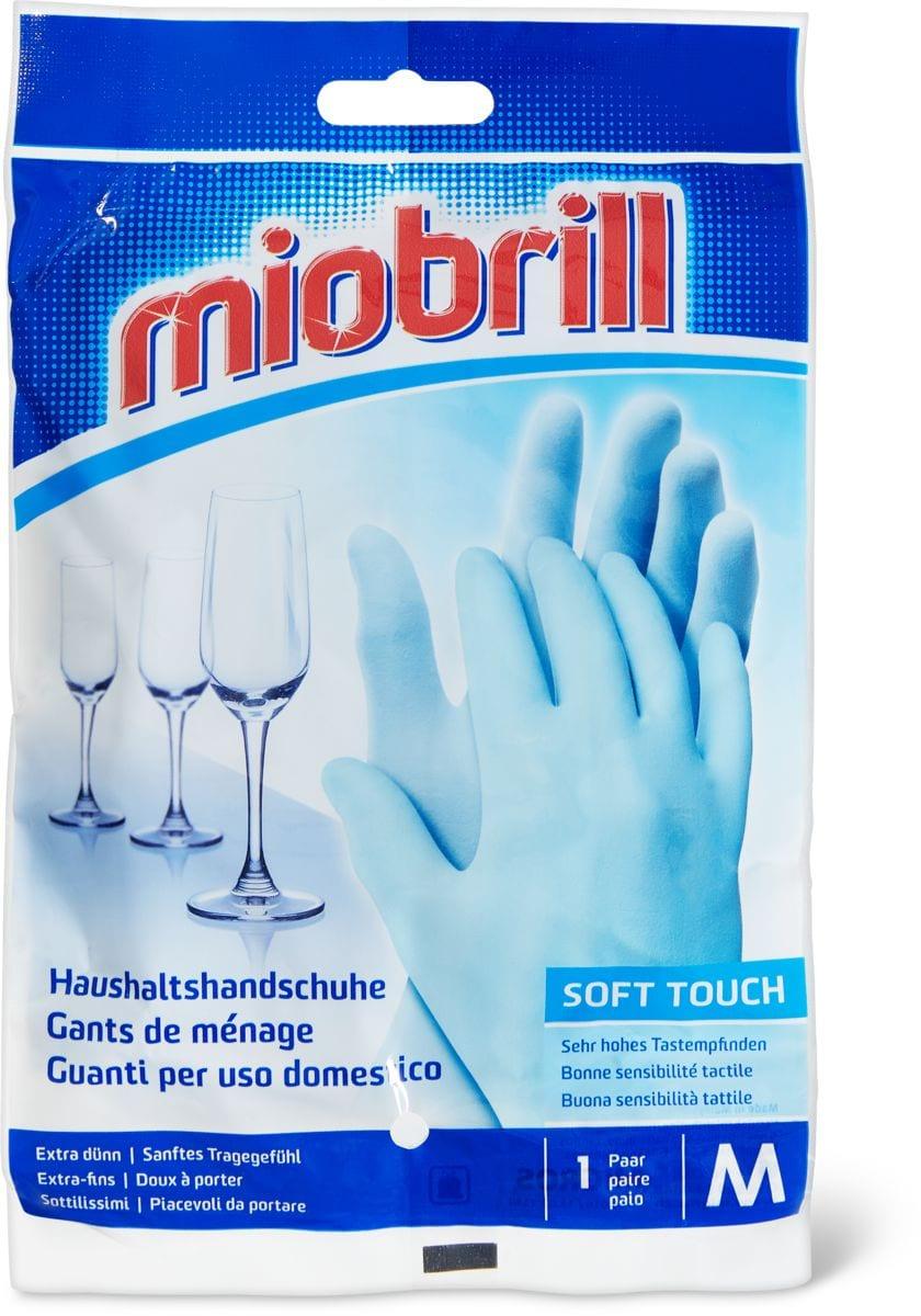Miobrill Soft Touch Guanti per uso domestico M